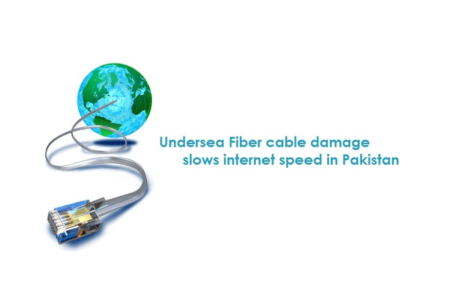 Undersea cable cut affects 50% of Pakistan's internet traffic