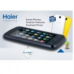Haier Announces Y-716 with FREE two back covers