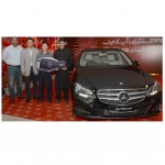 CEO Zong hands over Merzedez Benz Key to the Winner