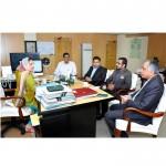 Lycamobile delegation called on Minister IT Mrs. Anusha Rahman Khan