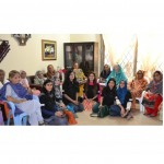 Ufone Volunteer's group visits Binte Fatima Old Home