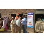Samsung Distributes Food Packages in Flood Affected Areas