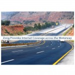 Zong Provides Internet Coverage across the Motorway