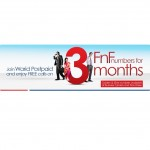 Warid Postpaid Brings 'Free For 3' Offer