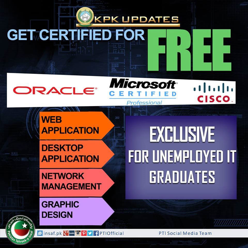 KPK Starts a Free Skill Development Program for Jobless IT Graduates