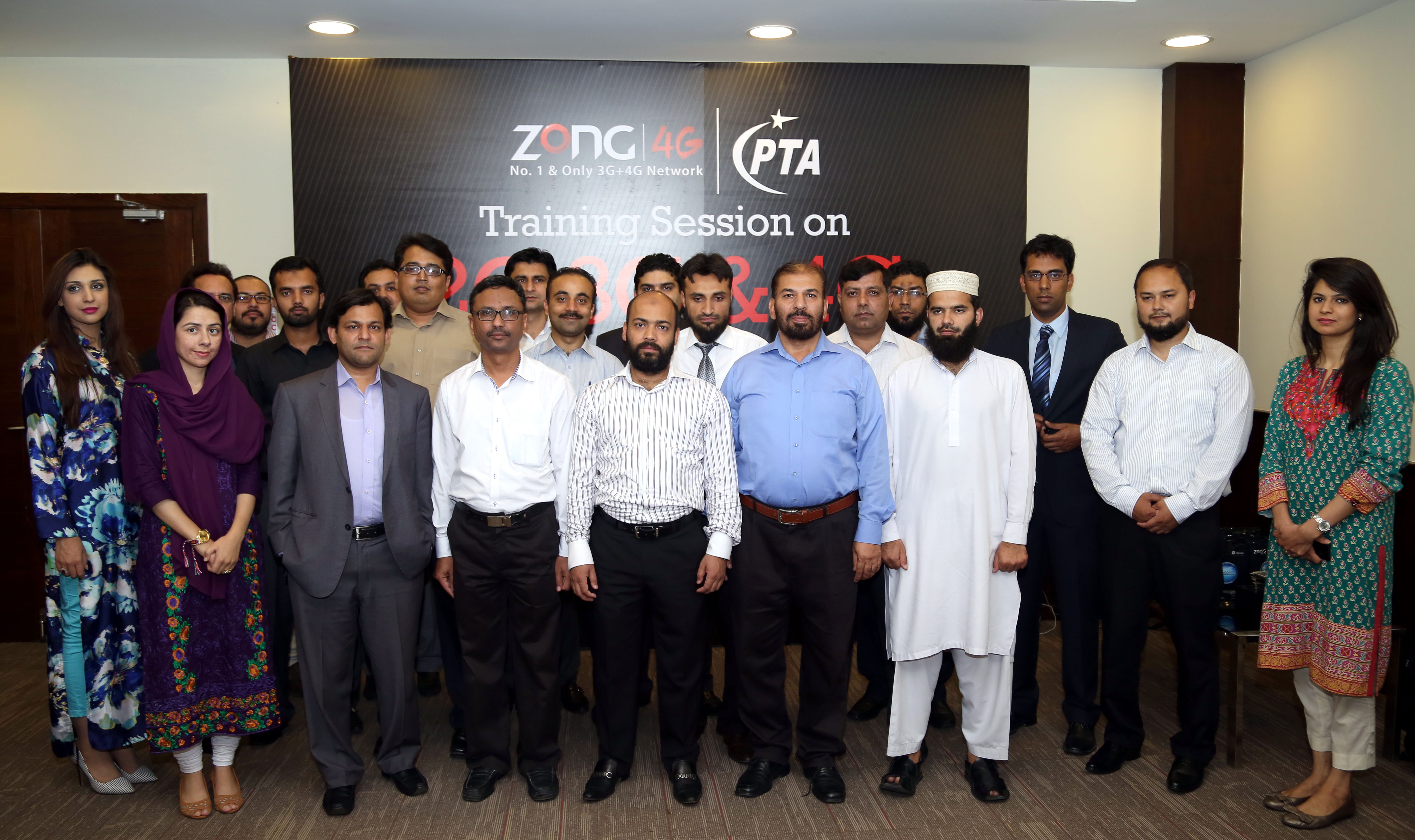 Interactive training for PTA officers on QoS KPI by Zong