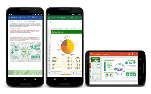 Microsoft Office Apps NOW Officially Available for Android Users
