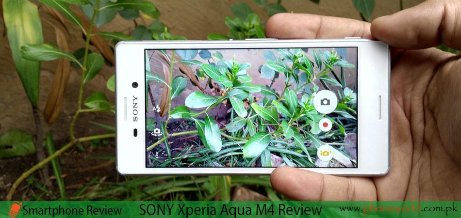 SONY XPERIA Aqua M4 Review