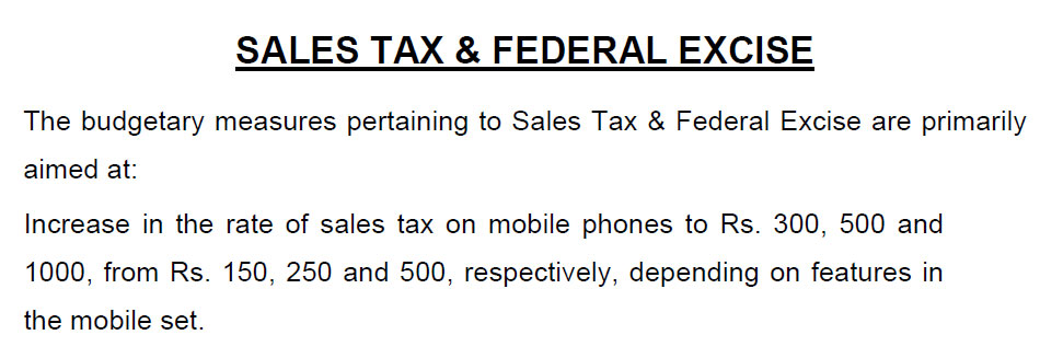 Mobile Phone Taxation Misinterpreted: Exemption of Regulatory Duty to offset Taxation