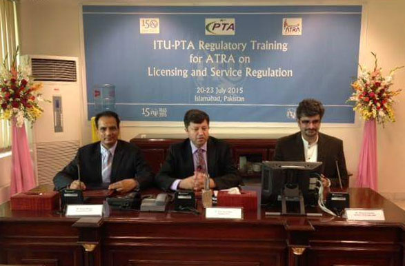 PTA and ITU Organizes Training on Licensing and Service Regulation for ATRA