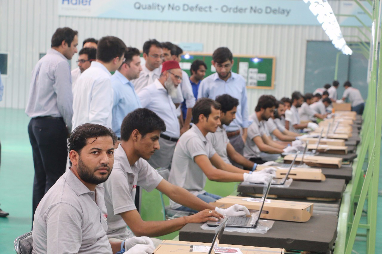 Haier Pakistan Makes Inroads in to the Computer Market, with 100,000 Locally Produced Laptops