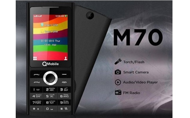 QMobile Introduces Two Elegant Bar Phones M85 and M70