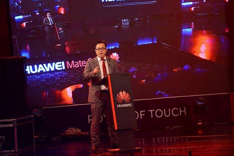 Aragon Meng, CEO Huawei Pakistan