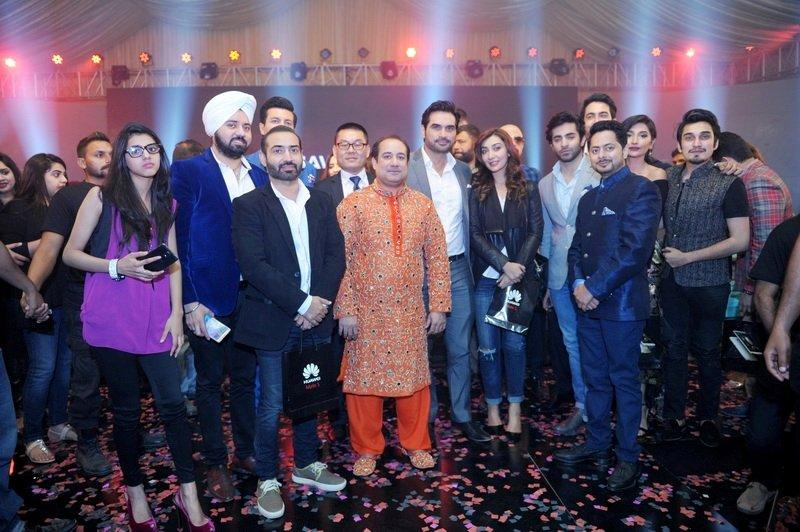 Mr Rahat Fateh Ali Khan with the Fashion icons, Ayesha Khan, Uzair Jaswal and others