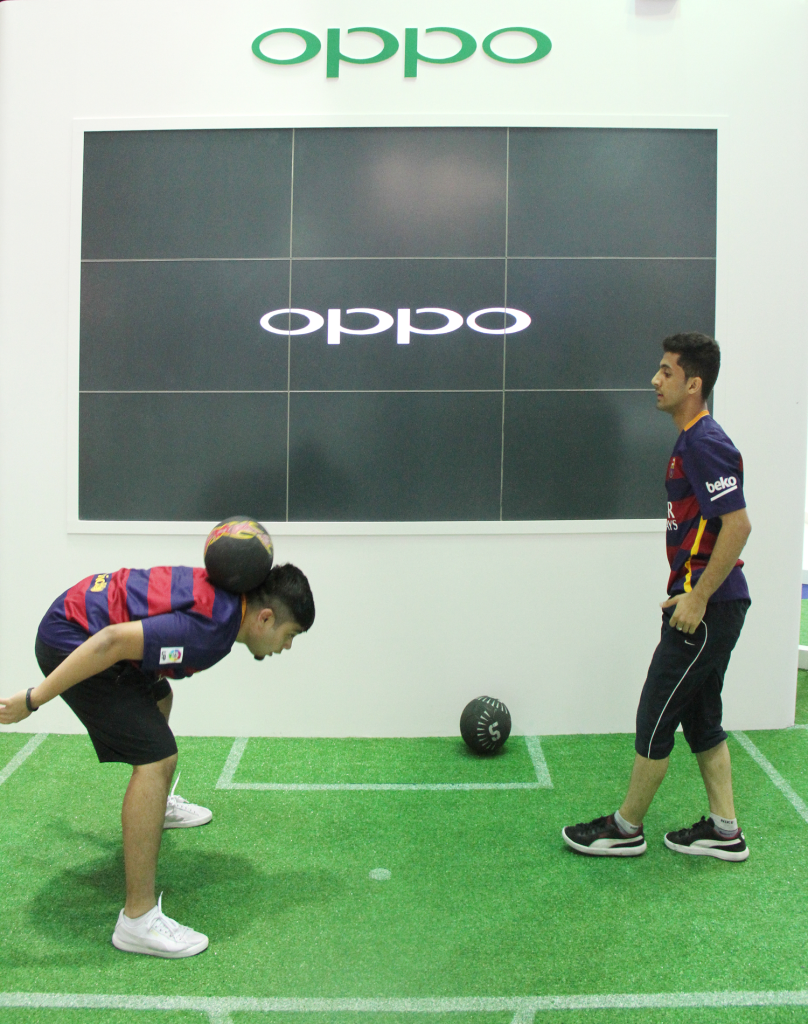 OPPO Exihibition in GITEX 2015, Dubai