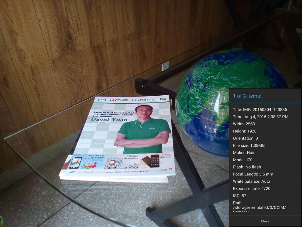 Haier Esteem i80 Review