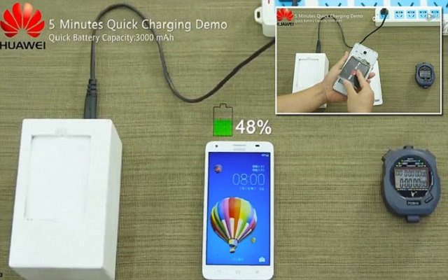 Huawei Reveals Super-Quick Charging Batteries