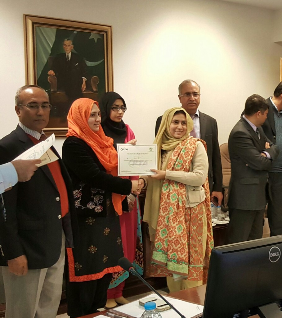 Workshop for Women Developers on Android & Augmented Reality Concludes at PTA HQs