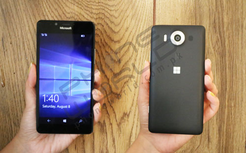 Microsot-Lumia 950 Phone world