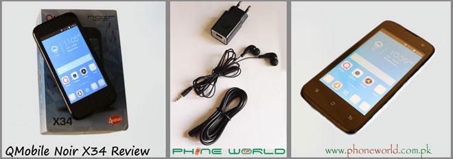 QMobile Noir X34-Accessories