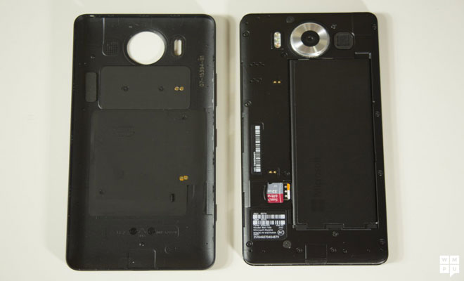 Microsoft Lumia 950-battery