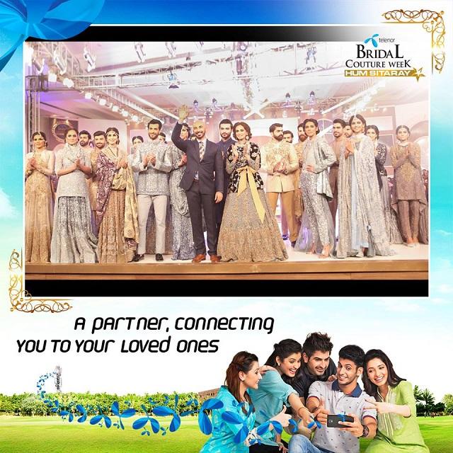 Telenor Pakistan Sponsors Second Bridal Couture Week 2015