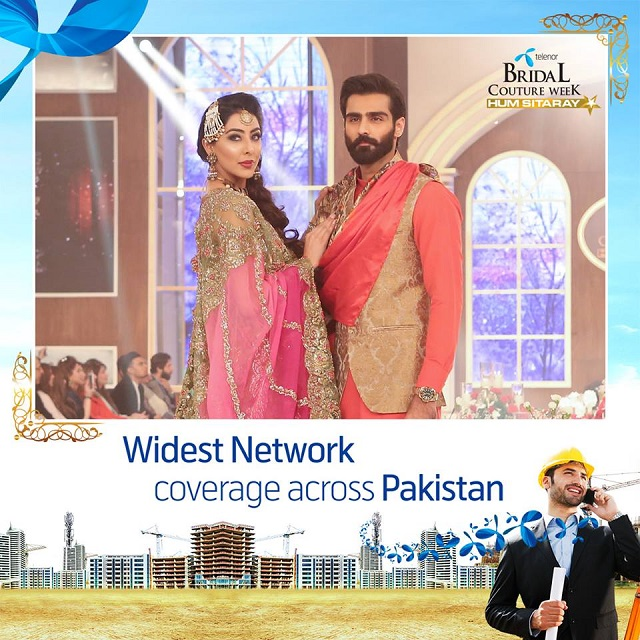Telenor Pakistan Sponsors Second Bridal Couture Week 2015