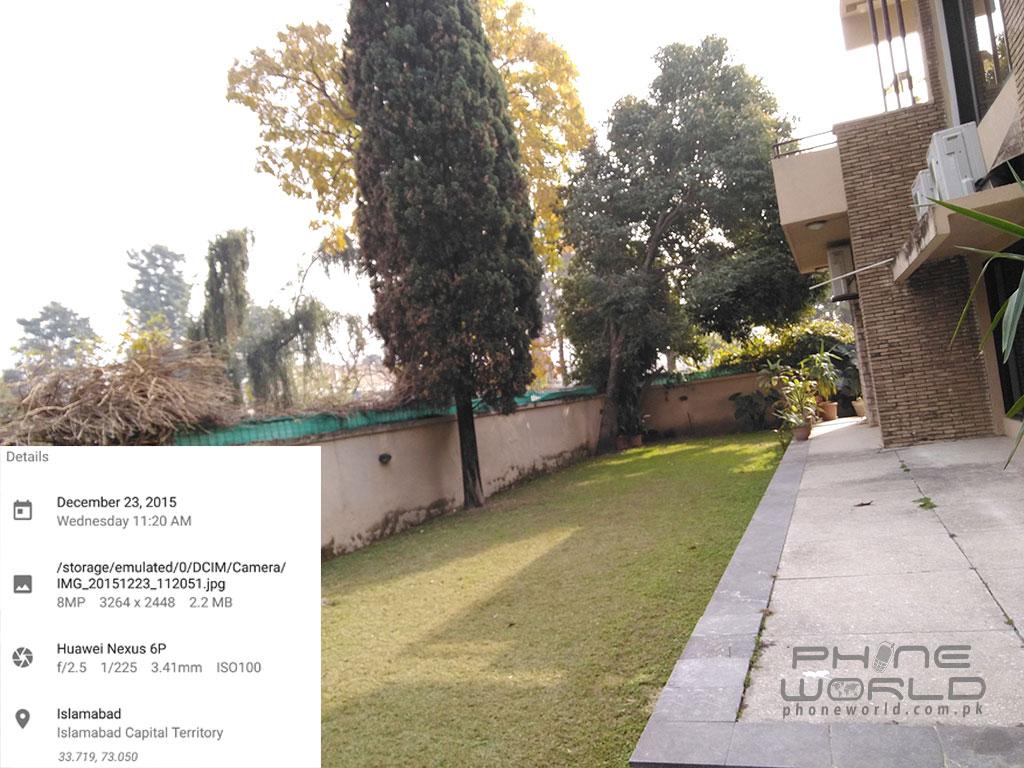 Huawei Nexus 6P Rear Camera: