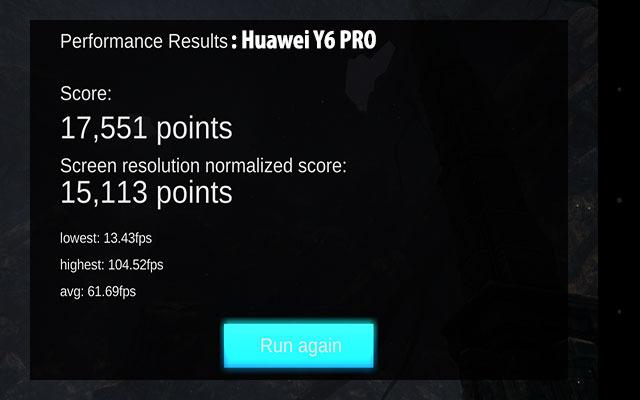 huawei y6 pro gpu performance
