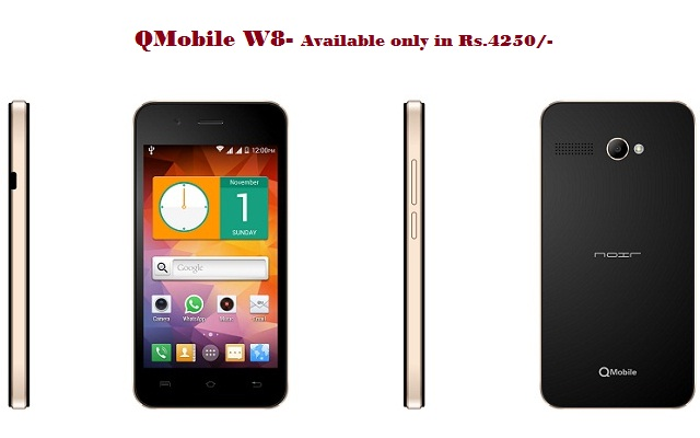 QMobile Launches two Elegant Smartphones W7 and W8