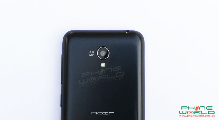 qmobile noir x75 back camera image