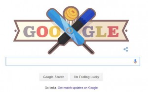 Google Doodle Celebrates ICC T20 Cricket World Cup