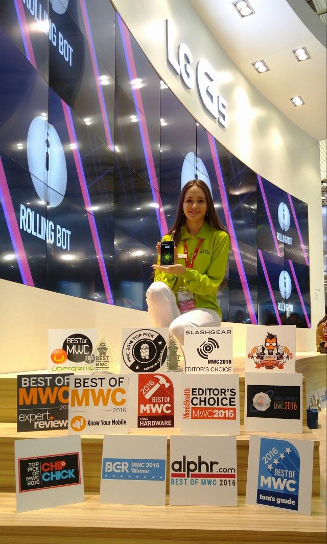 LG Awards at MWC