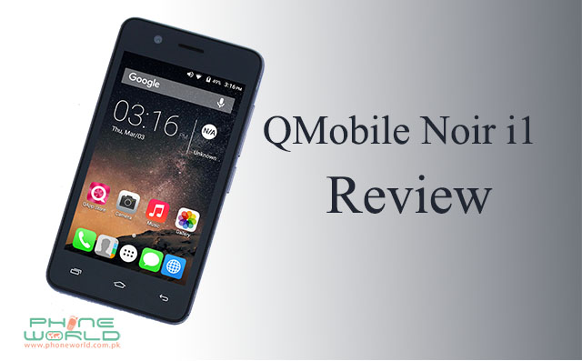 QMobile Noir i1 display