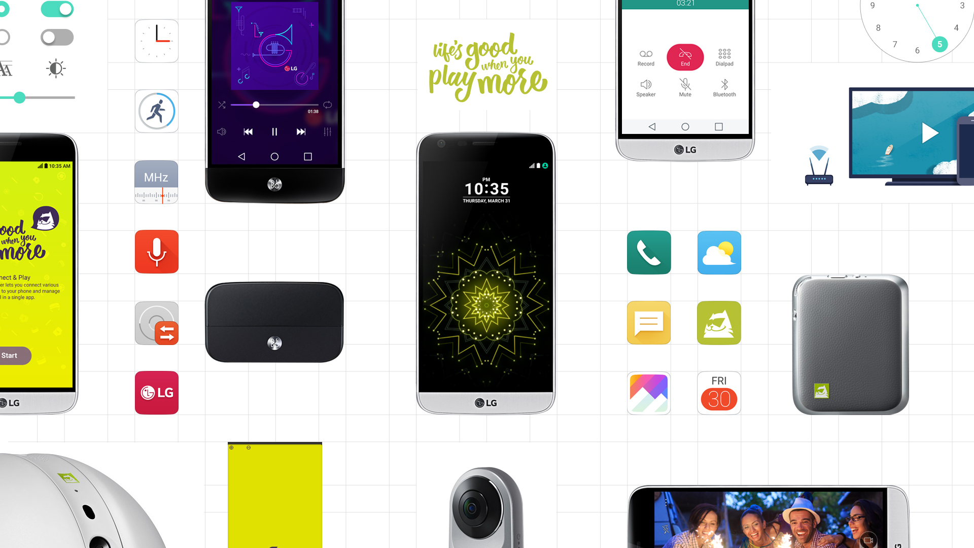 LG Introduces More Playful and Innovative User Interface 'UX 5.0' for G5 Smartphone