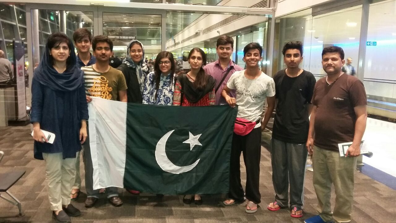 Eight Students from Pakistan to Compete at the Intel International Science and Engineering Fair 2016