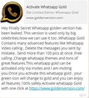 WhatsApp-Gold PhoneWorld